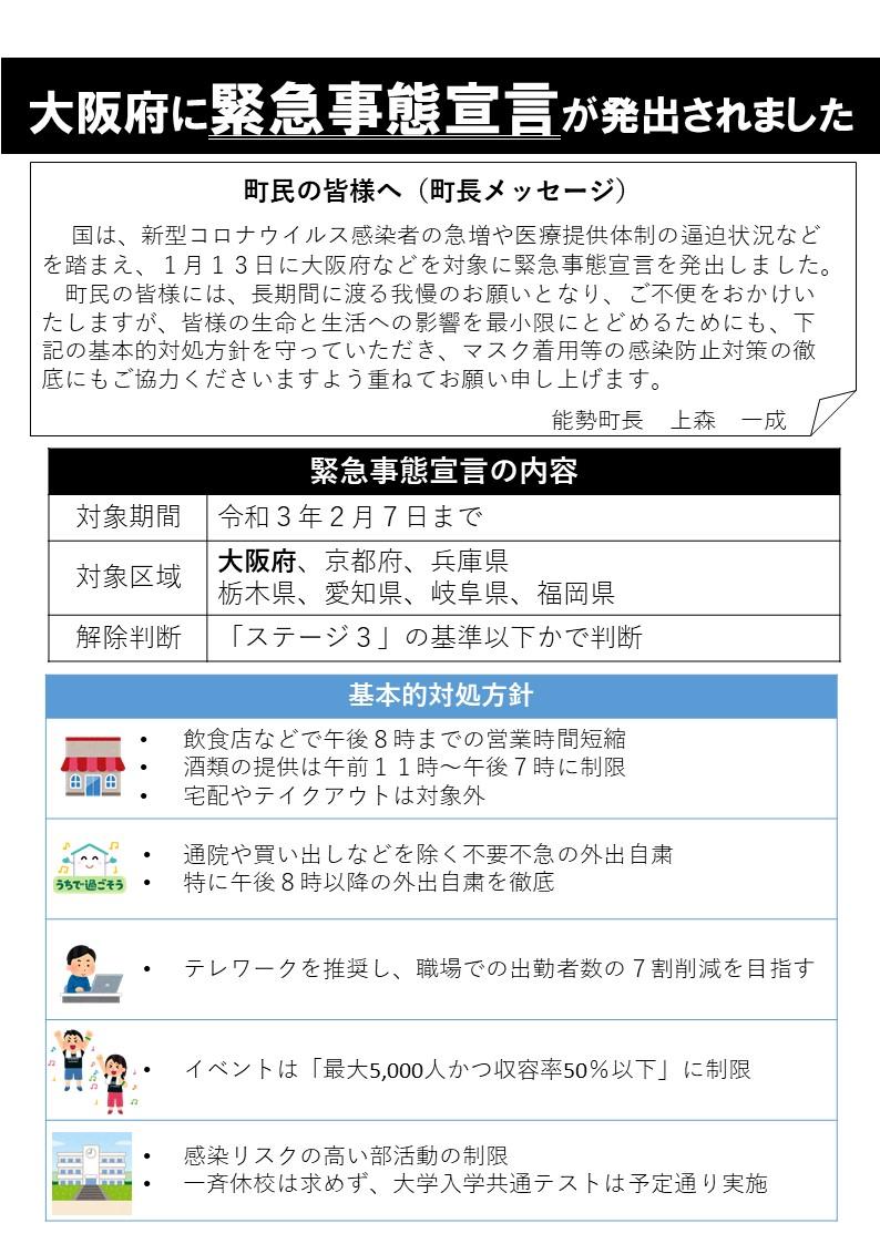 事態 解除 緊急 大阪